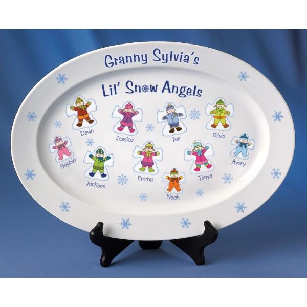 Snow Angels Platter