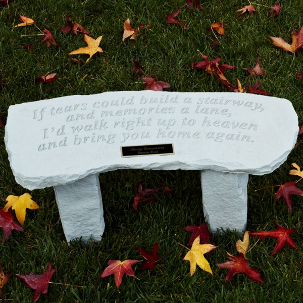 If Tears Garden Bench