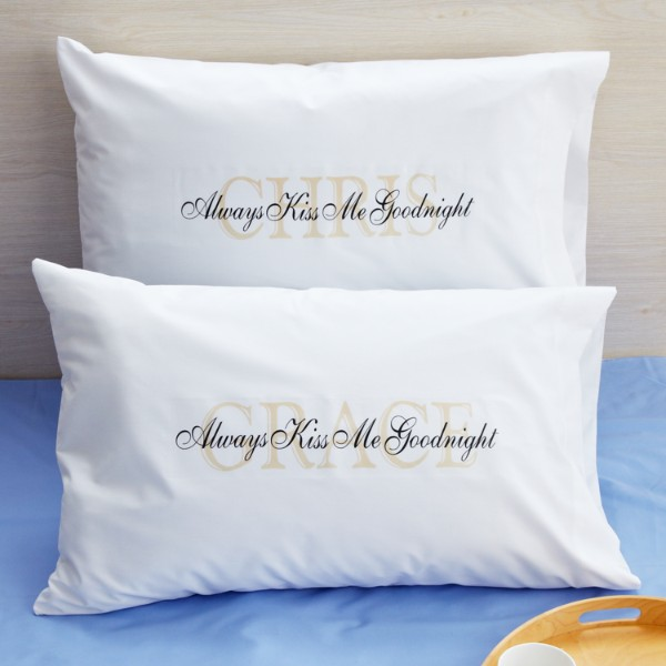 Personalized Always Kiss Me Goodnight Gifts At Personal