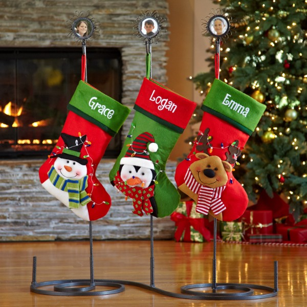 Personalized Christmas Stocking Holders At Personal Creations