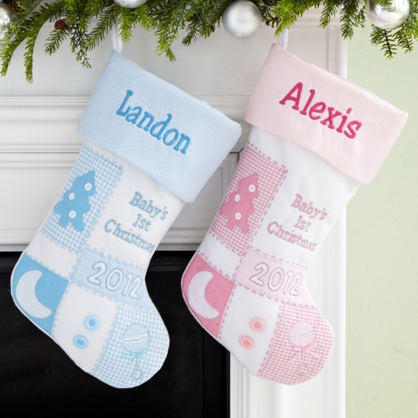 Baby S 1st Christmas Stocking