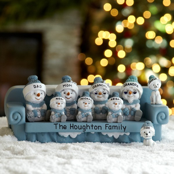 personalized christmas figurines at personal creations