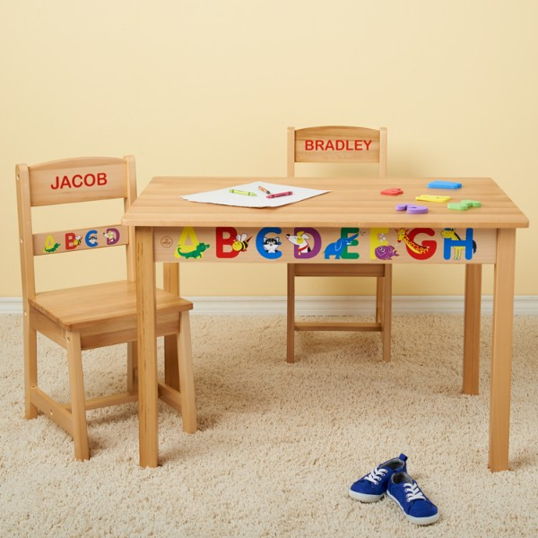 Kidkraft Rectangle Table And 2pc Chair Set
