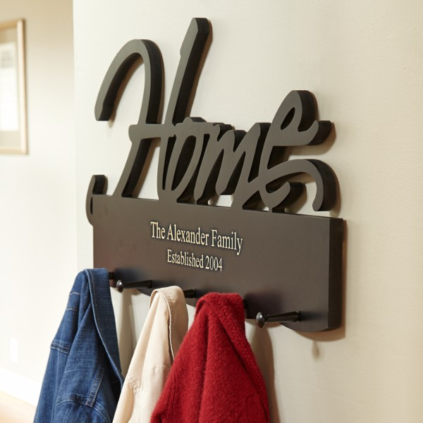 Wedding Gift Ideas For Young Couple : Home/Family Coat Rack