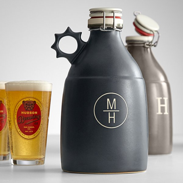 Handcrafted Stoneware Growler