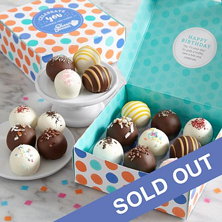 Cool 18 Birthday Cake Truffles Cake Balls With Hidden Messages Personalised Birthday Cards Veneteletsinfo