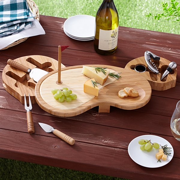 Sand Trap Wood Serving Board