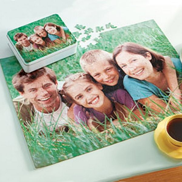 8 x 10 - 110 Piece Photo Puzzle with Tin