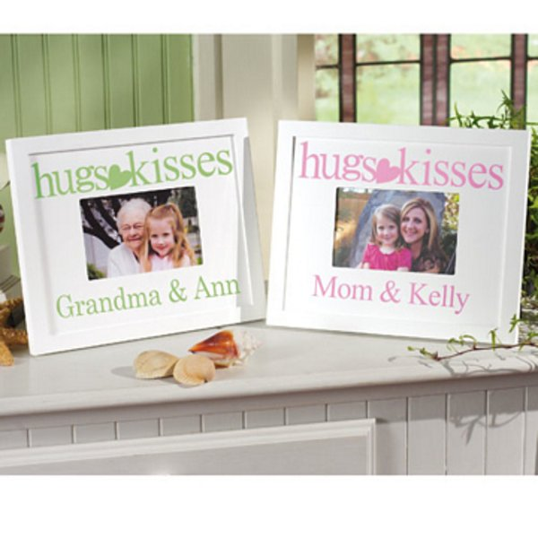 Hugs and Kisses Frame