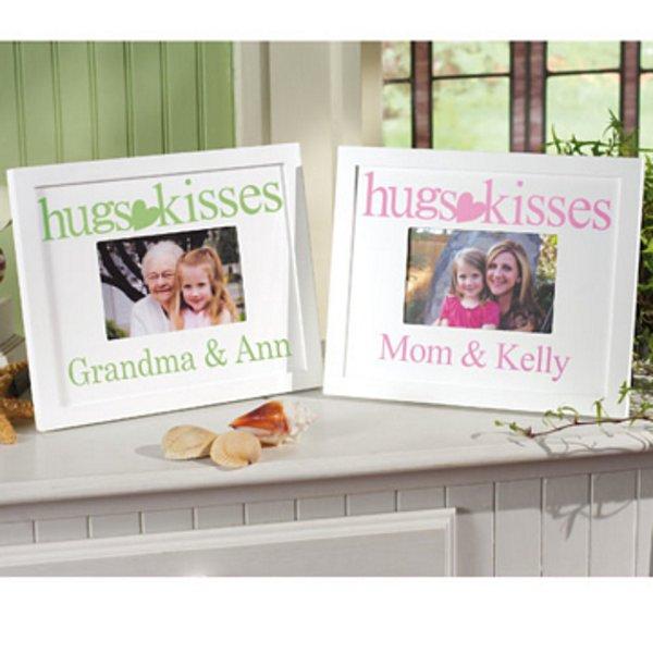 Hugs and Kisses Frame