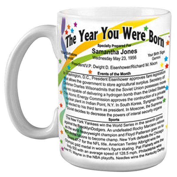 Year You Were Born Mug