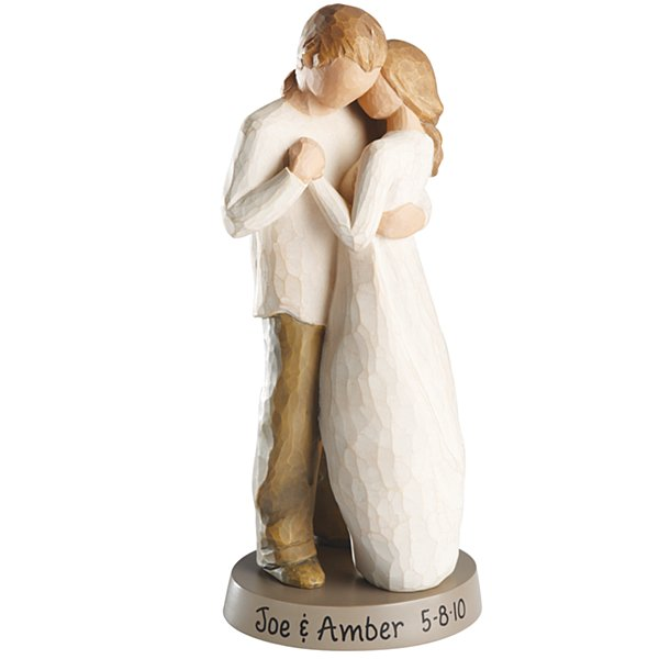 willow tree promise wedding cake topper personalized figurines at personal creations 27490