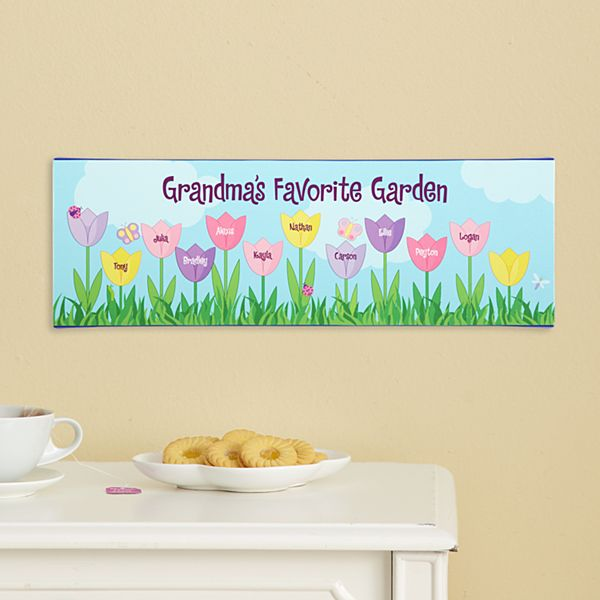 Tulip Garden Canvas