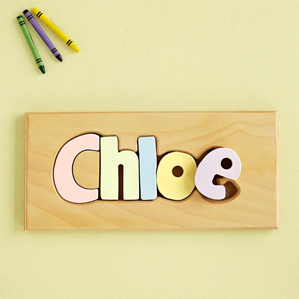 Name Puzzle Boards - Pastel Colors