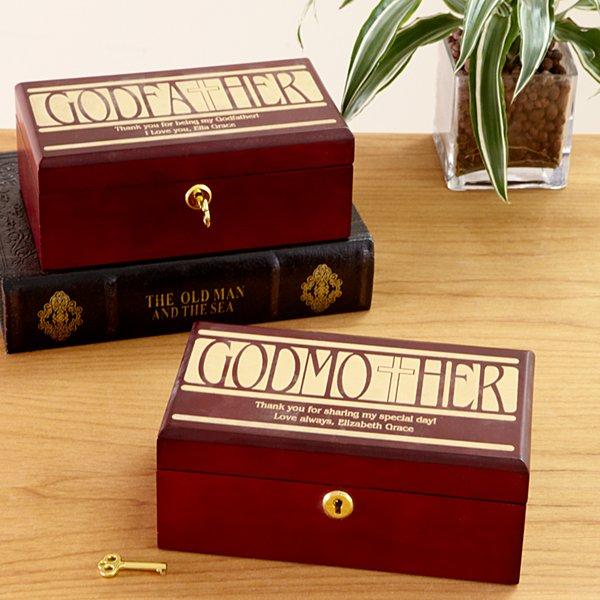Godparent Keepsake Box