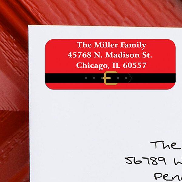 Santa Christmas Address Labels - Set of 150