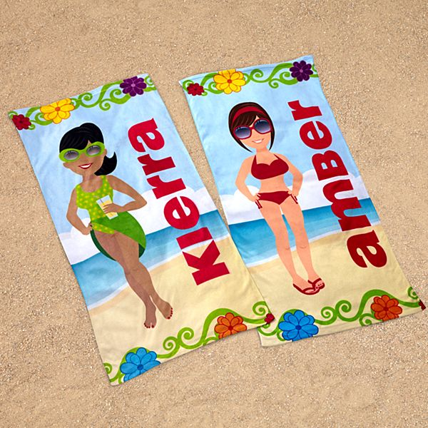 Beach Babe Towel