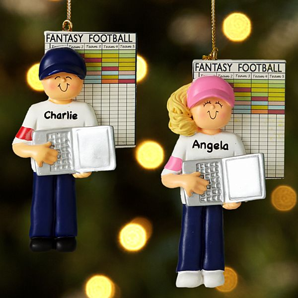 Fantasy Football Ornaments