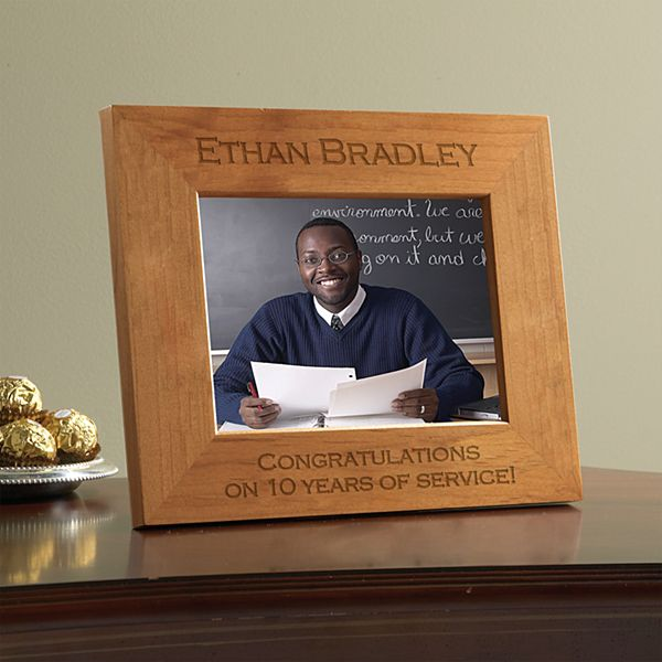 Business Message Wooden Frame
