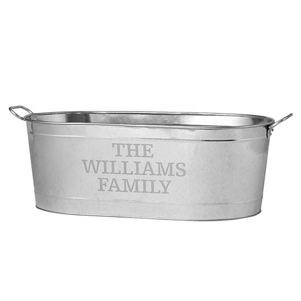 Entertainment Beverage Tub-Family Name