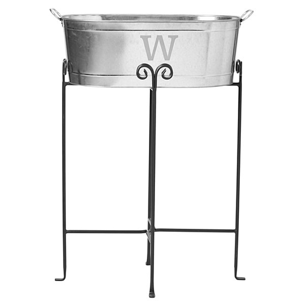 Entertainment Beverage Tub-Initial w/Stand