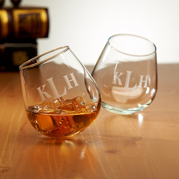 Rocking Cocktail Glasses - Set of 2