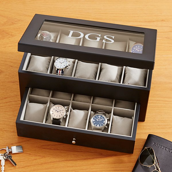 20 Watch Wood Box