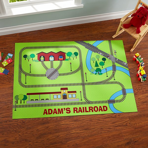 Little Conductor Playmat