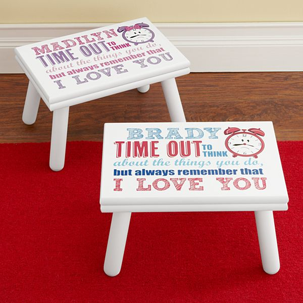 Time Out with Love Stool