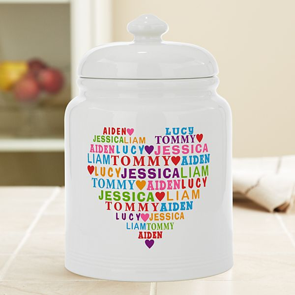 Heart Full of Love Treat Jar