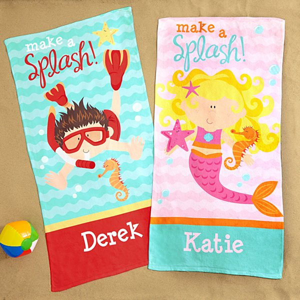 Big Splash Beach Towel