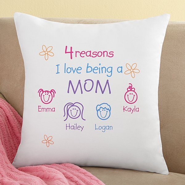 Pastel Reasons Why™ Throw Pillow