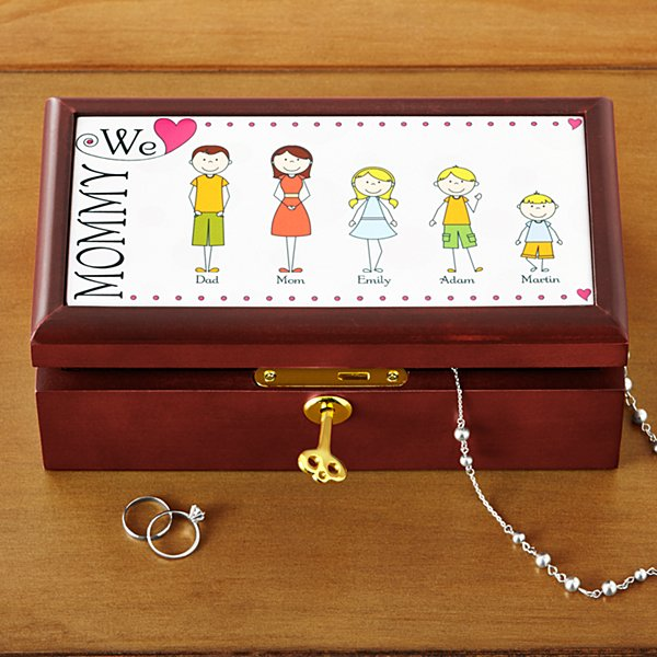 Tender Hearts Keepsake Box