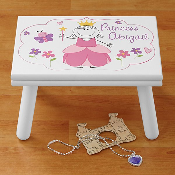 Fairy Tale Princess Step Stool
