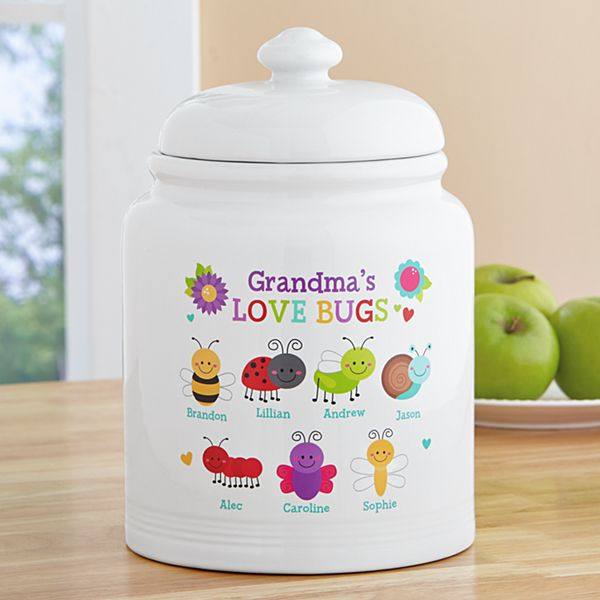 Love Bugs Treat Jar