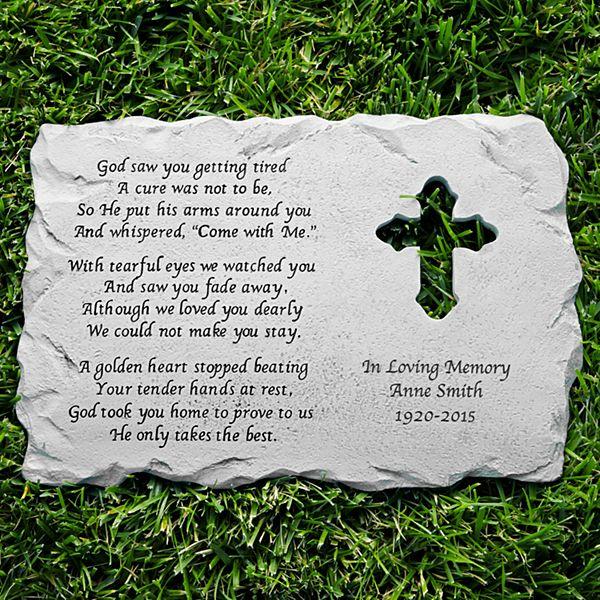 Cross Memorial Stone
