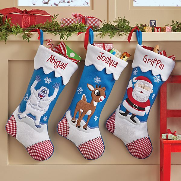 Rudolph the Red Nosed Reindeer® Personalized Stockings
