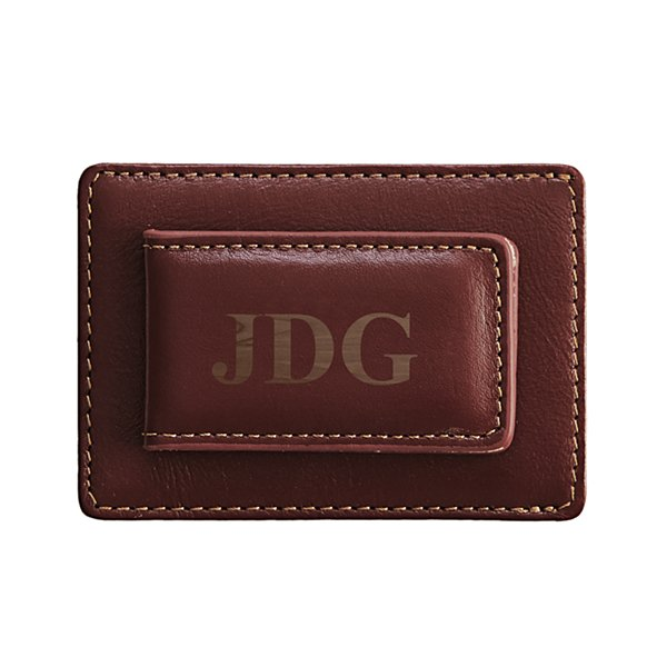 Leather Card Holder/Money Clip