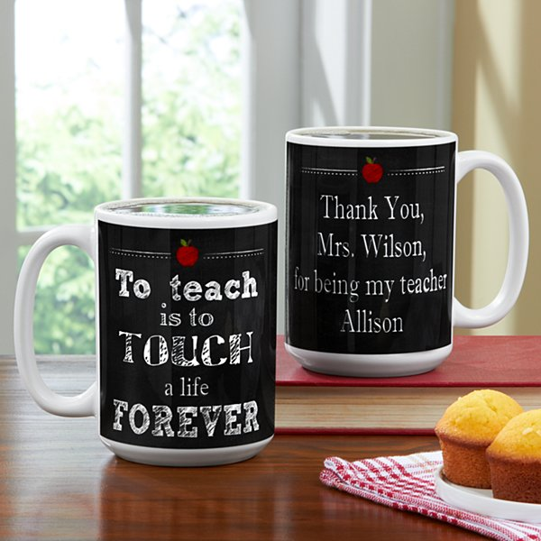 Teachers Touch Lives Mug
