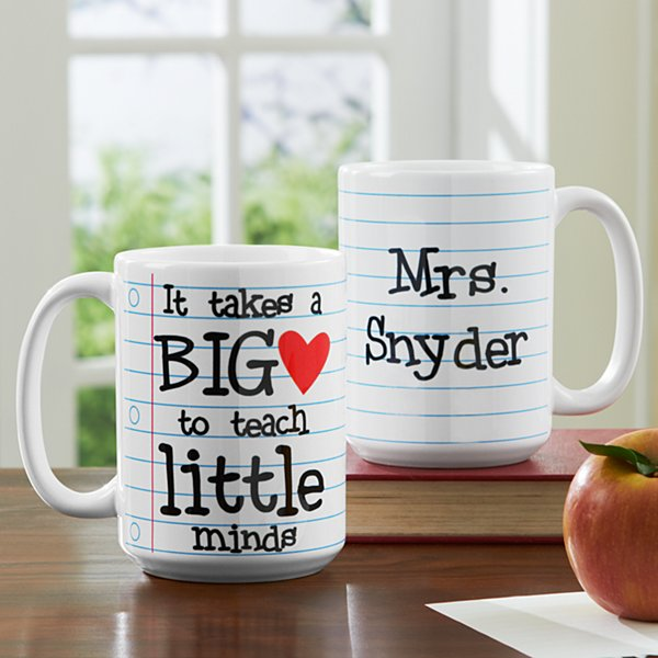 Teaching Takes Heart Mug