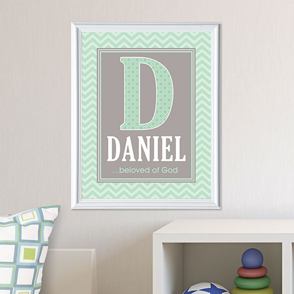 What's In A Name Framed Print