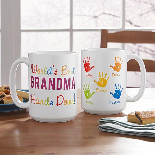 Hands Down Mug