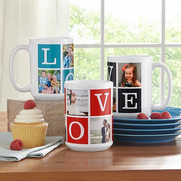 Filled with L-O-V-E Photo Mug