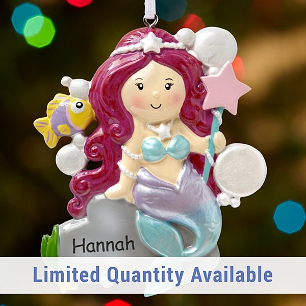 Under the Sea Mermaid Ornament