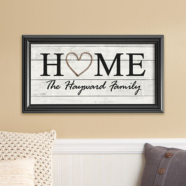 Rustic Home Framed Print