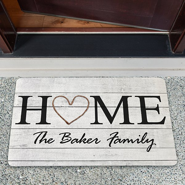 Rustic Home Doormat