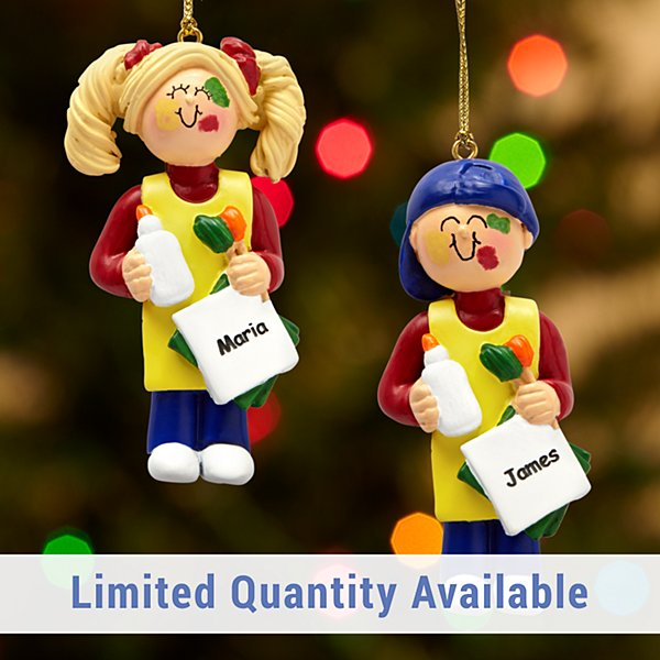 Little Artist Ornament