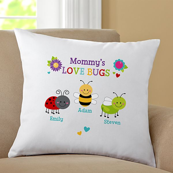 Love Bugs Pillow