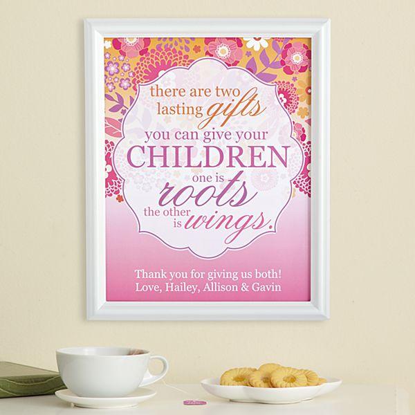 Lasting Children's Gifts Framed Print