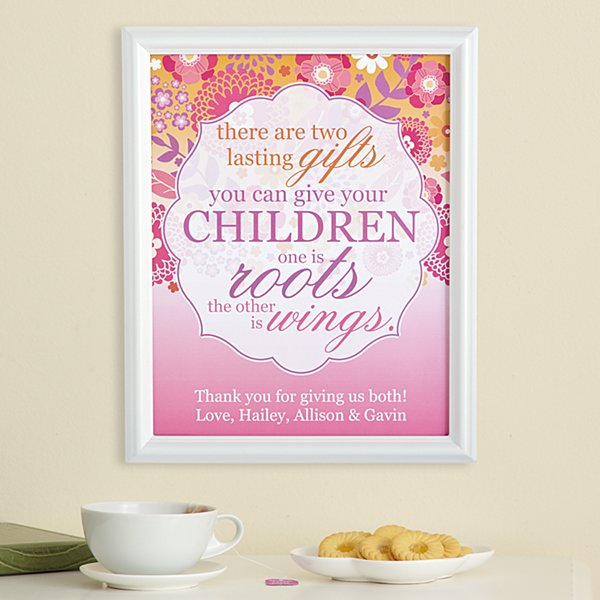 Lasting Children's Gifts Framed Print